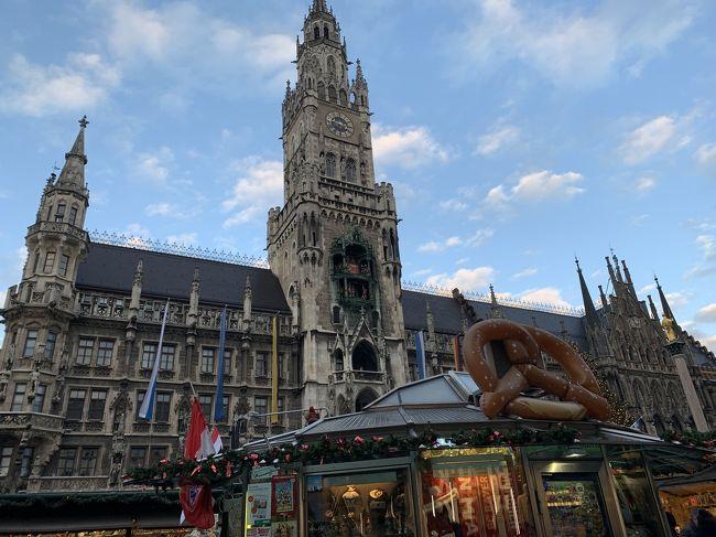 <br />娘の学生最後に親子で思い出に残る旅にしたくて、選んだ場所が2年前にツアーで訪れた南ドイツでした。<br /><br />娘にとっては初ヨーロッパなので素晴らしいドイツを見せてあげたいと思って連れてきたつもりでしたが、旅を終えてみれば彼女には感謝しかありません。<br />目的地をテキパキと探してくれて、母に代わり英語で対応してくれて、いつの間にか私の方が連れていってもらっているシーンも多々あり、すっかり大人の女性に育ってくれたと嬉しく感じた旅でもありました。<br />娘には母と行く学生最後の卒業旅行、私にとっては子育ての卒業旅行だったなあと振り返って思います。<br /><br /><br />1日目  カタール航空にてドーハ経由ミュンヘンへ。   <br />       ミュンヘン泊<br />2日目  ミュンヘン泊<br />3日目  ミュンヘン泊<br />4日目  DB鉄道にてローテンブルクへ。<br />       ローテンブルク泊<br />5日目  DB鉄道にてフランクフルトへ。<br />       フランクフルト泊<br />6日目  フランクフルト泊<br />7日目  カタール航空にてドーハ経由成田へ