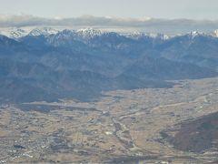 Embraer 175(FDA)で信州松本空港に飛ぶーアルプスや富士を見るー