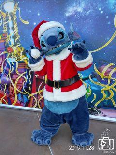 """香港ディズニー """"クリスマスを満喫する""""� 〜今年のクリスマスはグリが大変〜"""