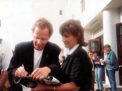 1990年 DST(地球の歩き方?)で 3週間の周遊 3/5 :運良くヴェネツィア映画祭