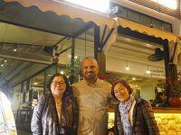 トラピックス「トルコ大周遊15日間」(22)夕暮れのカレイチを散策した後はアンタルヤの1720軒のレストランの頂点の店でディナーを楽しむ。
