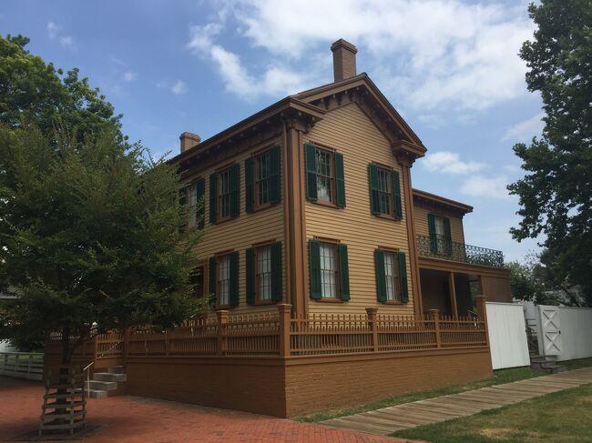 イリノイ州 スプリングフィールド - リンカーンの家歴史地区