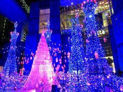 渋谷スカイから眺める新国立競技場&都心のXmasイルミ・紅葉さんぽ