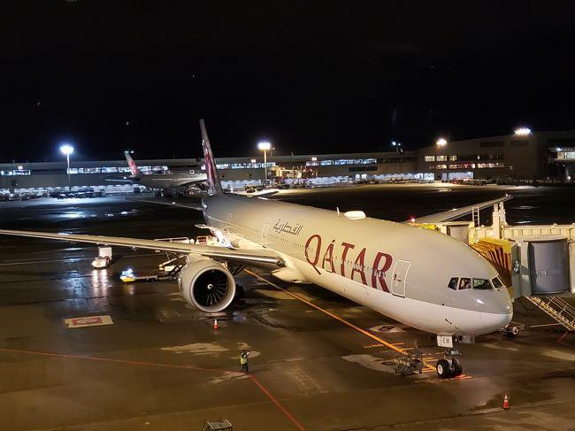 イタリア旅行記の番外編として今回搭乗したカタール航空4つの便の搭乗記、また超大規模空港のドーハ・ハマド国際空港をまとめて紹介します。<br />よろしければ旅行記本編と並行してご覧下さい。<br /><br />搭乗日時:<br />10月25日 NRT-DOH QR807(約12時間)<br />10月26日 DOH-FCO QR131(約6時間)<br />11月1日  VCE-DOH QR126(約6時間)<br />11月2日  DOH-HND QR812(約9時間)<br /><br />旅行記本編は以下のパートで紹介しています。<br />併せてご覧ください。<br />*========*========*=======*=======*<br />[番外編 カタール航空搭乗記]<br />☆本旅行記☆<br /><br />[1,2日目 奇跡的に辿り着いた編]<br />https://4travel.jp/travelogue/11574233<br /><br />[3日目 ローマ市内観光編]<br />https://4travel.jp/travelogue/11575293<br /><br />[4日目 ポンペイ遺跡編]<br />https://4travel.jp/travelogue/11575298<br /><br />[5日目 青の洞窟は青かった編]<br />https://4travel.jp/travelogue/11575300<br /><br />[6日目 水の都ヴェネツィアへ!編]<br />https://4travel.jp/travelogue/11575305<br /><br />[7日目 憧れのゴンドラ乗船編]<br />https://4travel.jp/travelogue/11575308<br /><br />[8,9日目 早朝の貸切ブラーノ島編]<br />https://4travel.jp/travelogue/11575312<br />*========*========*=======*=======*<br />※本投稿は自分自身の記録用です。記載している情報はあくまで参考程度とお考え下さい。