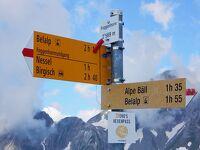 スイス・ハイキングの旅 2019夏-13(ベラルプ~フォッゲンホルンに登る)