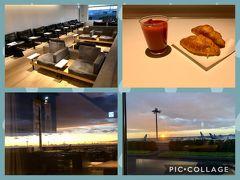 初冬の函館へ prologue 蒲田前泊~空港で朝焼け⇒日の出を見る。