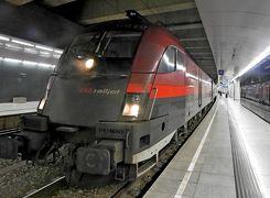 【海外71】2019.10ハンガリー・ウイーン旅行1-羽田からNH205便でVIE,NHホテルで朝食,Railjetで中央駅へ