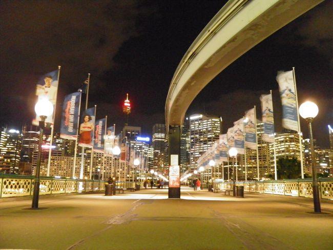 2012年 シドニー出張(6 days) =Day 3= ~シドニー散策:夜のダーリング・ハーバー~