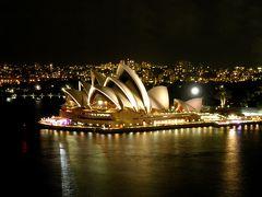 2012年 シドニー出張(6 days) =Day 4= ~シドニー散策:夜の遊園地は神秘的~