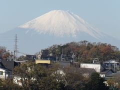 JR北鎌倉駅で途中下車して富士見-2019年初冬