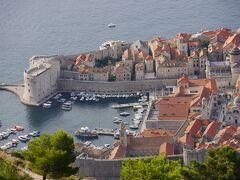 クロアチア等 4ヵ国周遊個人旅行3.ドブロブニク(後)スルジ山ハイクと遊覧船
