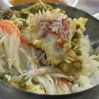 有給消化のお達しで急遽22回目の訪韓は、初冬のプサンへ!~(4)機張市場でカニを食べました!