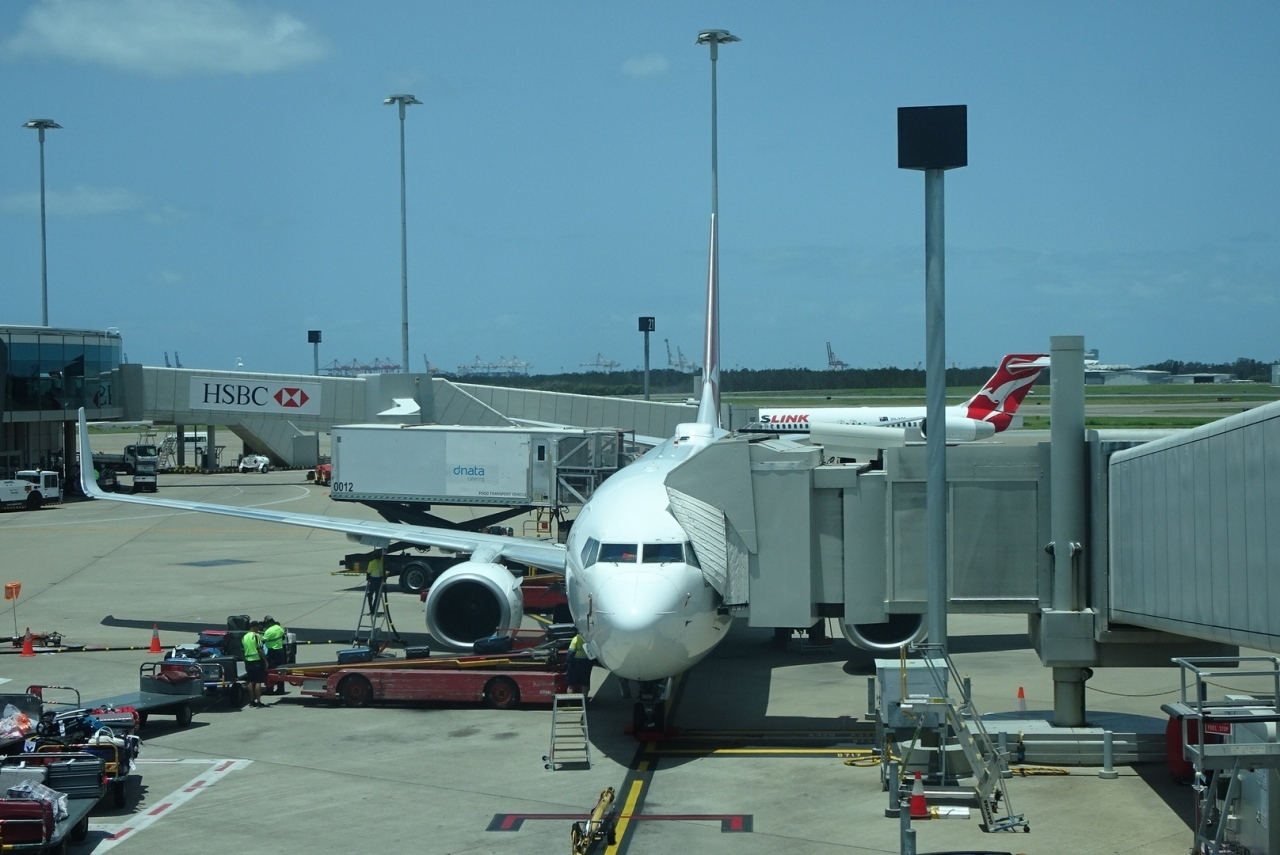【フライト編15】カンタス航空の国内線フライト ブリスベン→メルボルン 〜ワンワールド世界一周航空券で2ヶ月の旅