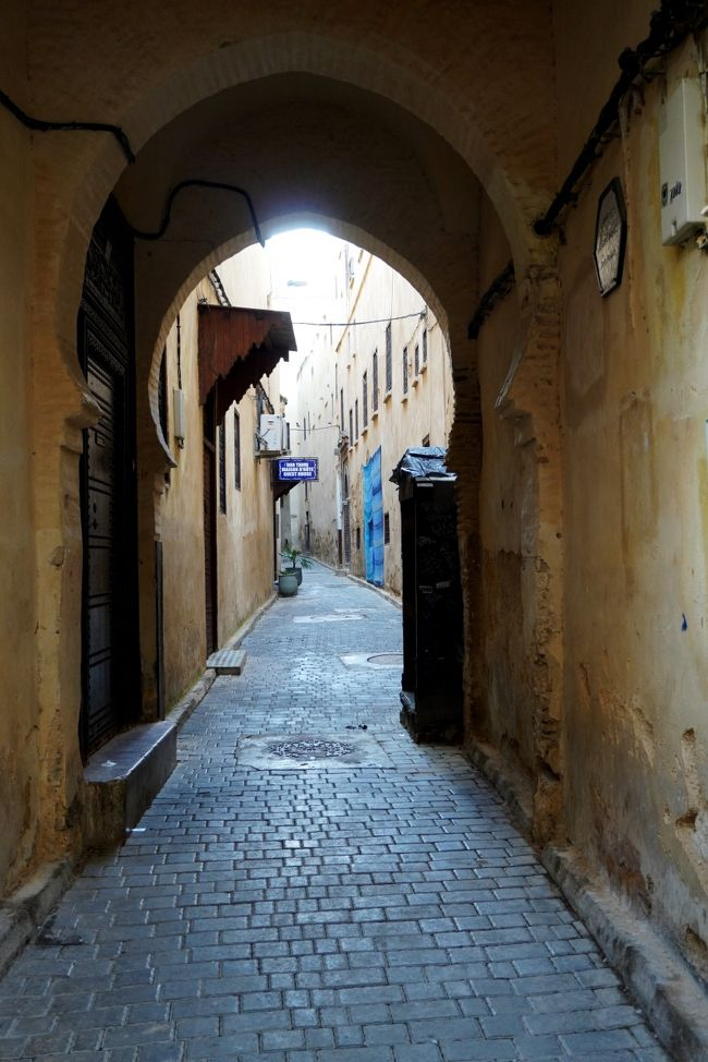 シュクラン モロッコ 4.アフリカ人の聖地フェズ