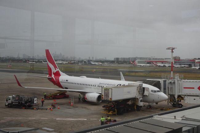 【フライト編13】カンタス航空でニューカレドニアへ シドニー→ヌメア ~ワンワールド世界一周航空券で2ヶ月の旅
