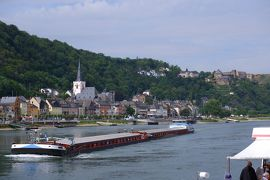 スイス3大明峰とロマンティック街道の旅 11.ワインの町リューデスハイムとライン川下り~帰国