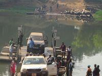 (45)2020年1月(6)シエラレオネ(渡し舟の川渡り オウタンバ・キリミ国立公園(ジャングルウォーク カヌーサファリ) ギニア国境へ)