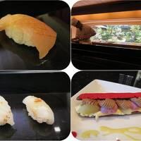 秋の北陸ロマン(28)ホテル日航金沢・弁慶の寿司ランチ&ラウンジ・ファウンテンのスイーツ
