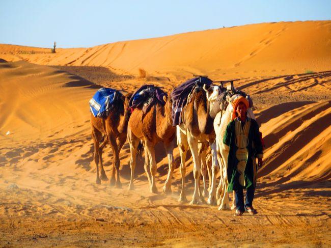 オヤジ、モロッコ人にイラッとし、絶景にジーンとしました。(砂漠編) No 3