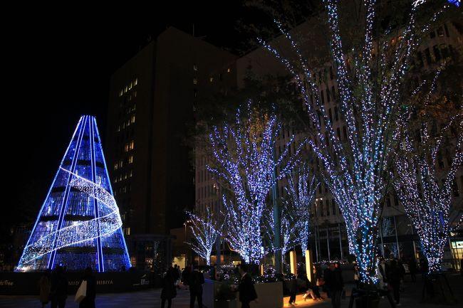 """丸の内界隈の三菱村で開催中のSTAR WARS""""Precious for you""""~Marunouchi Bright Christmas 2019~をはじめ東京ミッドタウン日比谷、東京タワーなどのイルミネーションを巡って来ました"""