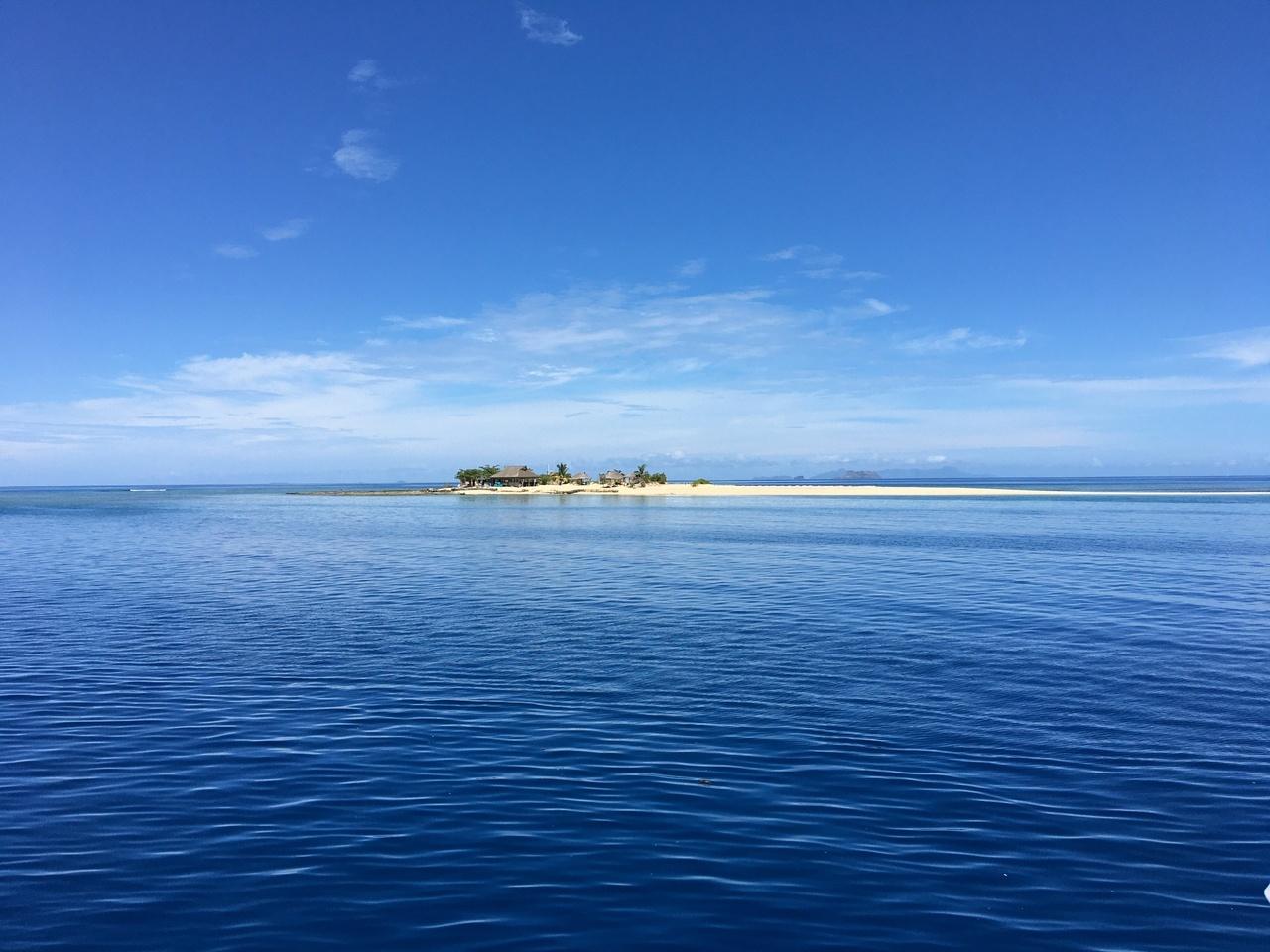 12月にフィジーでビーチを満喫~3日目 Whale's Tale