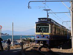 長谷から江ノ島へ、江ノ電撮り歩き。