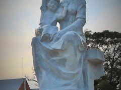 長崎-4 平和公園 世界平和シンボルゾーン 諸国寄贈のモニュメント ☆和泉屋で買物を