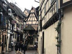 ドイツ黒い森地方と美しきアルザス地方7つのクリスマスマーケット6日間 2日目の1 エギスハイム~コルマール前半