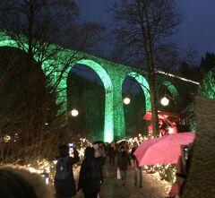 ドイツ黒い森地方と美しきアルザス地方7つのクリスマスマーケット6日間 4日目 シュツッツガルト~ラヴェンナ渓谷~チューリッヒ