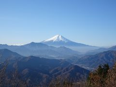 富士山展望♪山梨・中央線沿線の山旅(乾徳山・黒金山、扇山・百蔵山、大蔵経寺山)