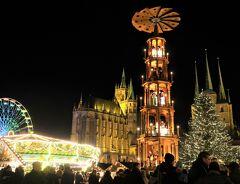 ドイツ 2019クリスマスマーケットの旅(エアフルト・ミュールハウゼン)