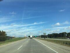 オクラホマ州 - オクラホマ州の南部をドライブ中の風景