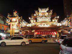 3回目の台湾旅No.8<台北6>五分埔商圈でひたすら通訳 大混雑の饒河街観光夜市 烤肉と油飯