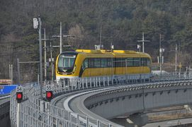 2019年12月韓国弾丸鉄道旅行6(無料で乗れる仁川空港磁気浮上鉄道)