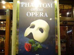 「オペラ座の怪人」ファントムに逢いに!ロンドン&日帰りパリ一人旅⑥
