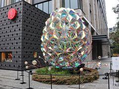 宝くじ当選祈願と美術館、師走の日本橋街歩き。