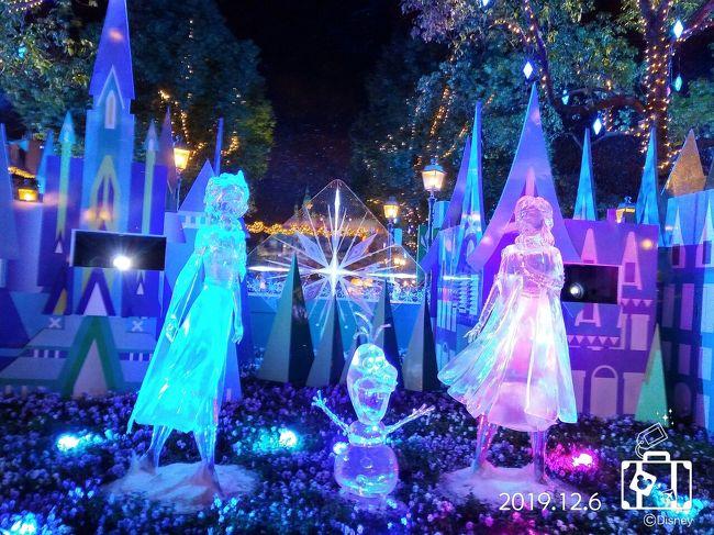 今年もクリスマスの可愛いコスチュームを着たキャラ達に会いに行って来ました<br /><br />週末はディズニータウンの無料ショーもあって、あちこち移動で大忙し…