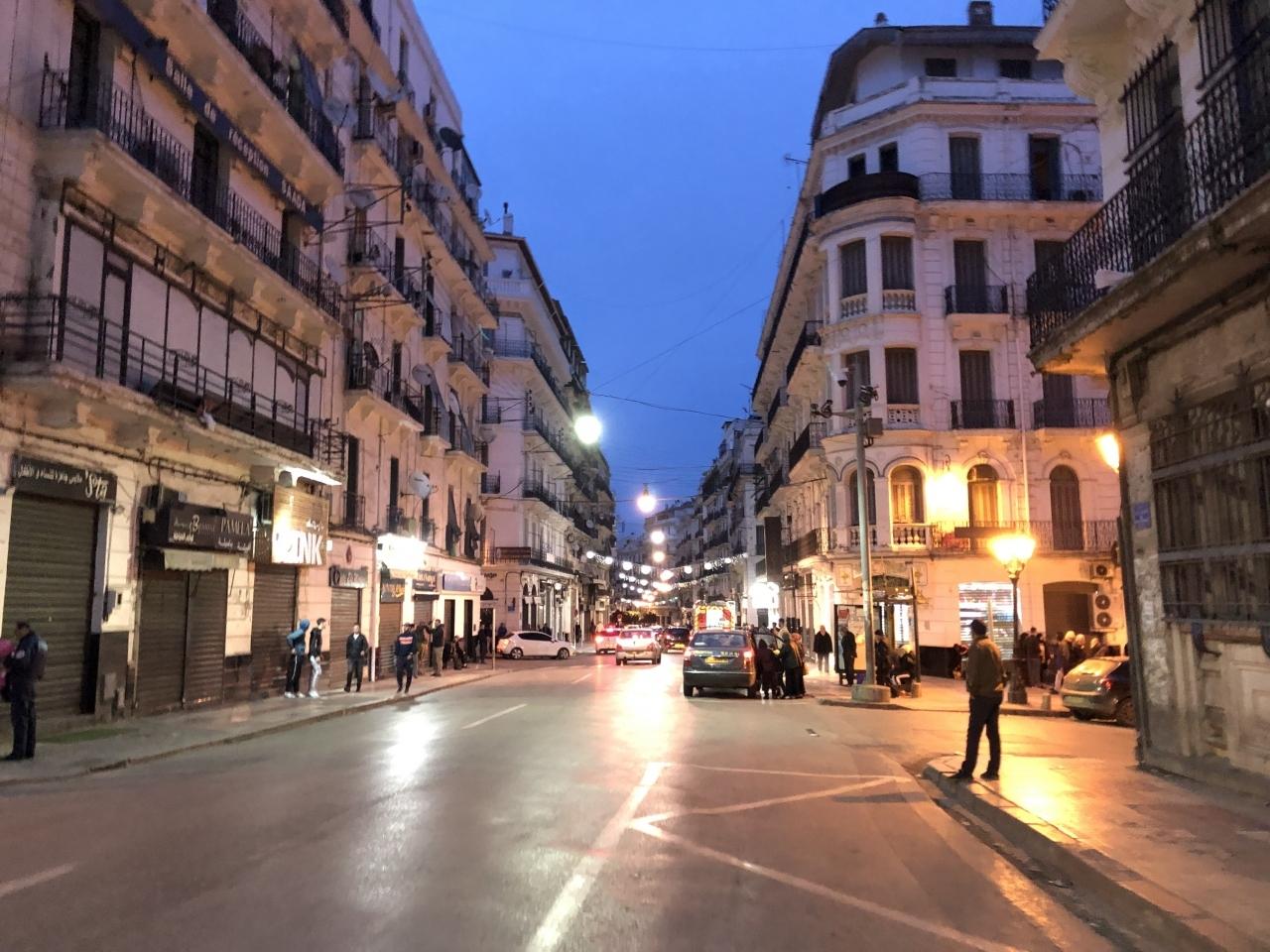 アルジェリア1日目 アルジェ到着