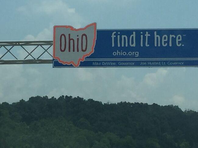 オハイオ州 - ドライブ合計6時間走破のドライブの風景