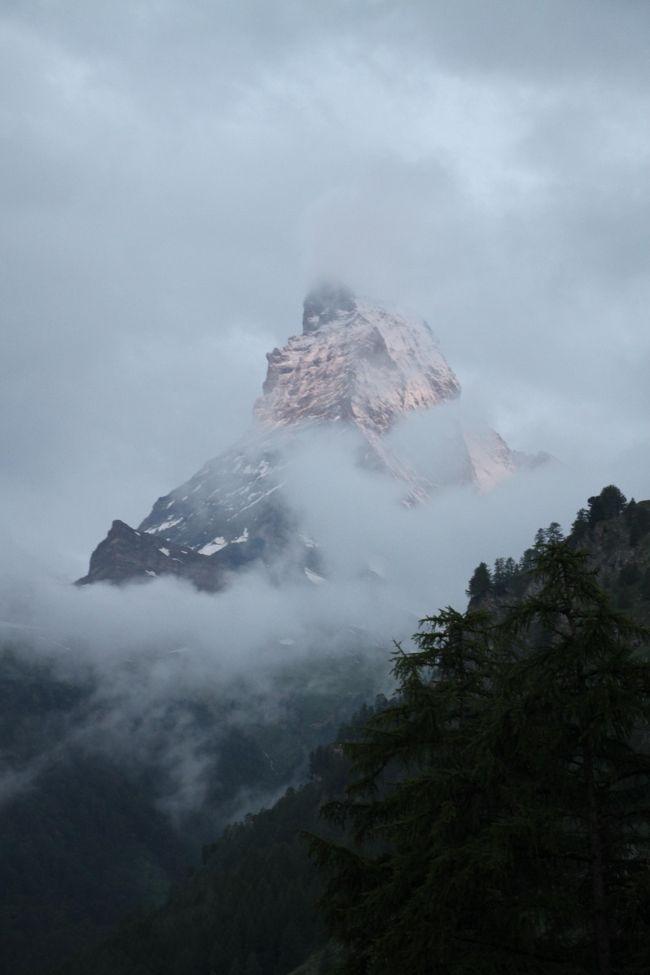 アルプス5大名峰と絶景列車の旅 10 ツェルマットで車に当て逃げされた