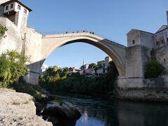 クロアチア等 4ヵ国周遊個人旅行 4.モスタルからスプリット