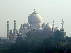 不思議な国インド訪問記 6 (タージ・マハルとアグラ城)