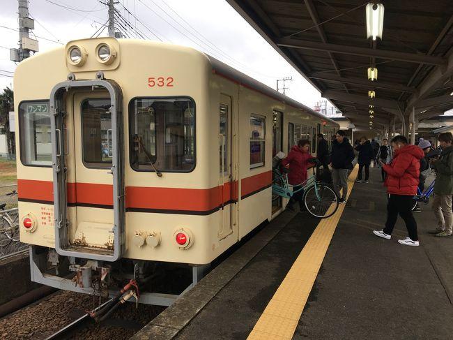 毎年仕事で訪れる、龍ヶ崎<br />関東鉄道龍ヶ崎線は、<br />二駅だけを往復する鉄道です。