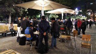 人生初ひとり旅_南米マチュピチュ&イースター島(6)チリへ/サンティアゴ、アルマス広場