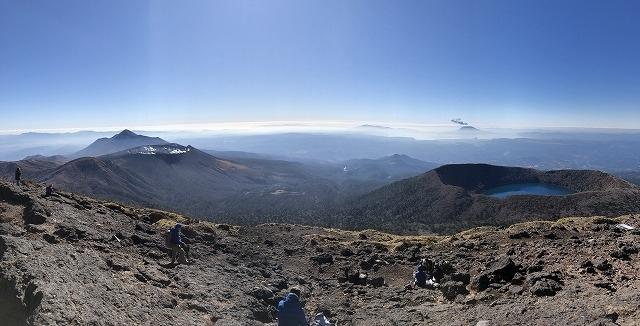 絶景お手軽トラベルハイキング、九州韓国岳