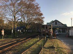 明智鉄道の駅訪問:山岡駅、紅葉の日本の原風景を楽しむ