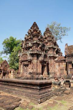 ■ カンボジア アンコール遺跡の旅(4)バンテアイ・スレイ 「東洋のモナ・リザ」