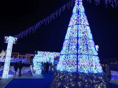☆クリスマスはラグーナで☆光のショー2019年