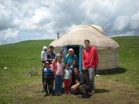 スマホ無しの冒険 シルクロード行き当たりばったり旅�カザフスタン・ヒッチハイク〜遊牧民テント突撃訪問