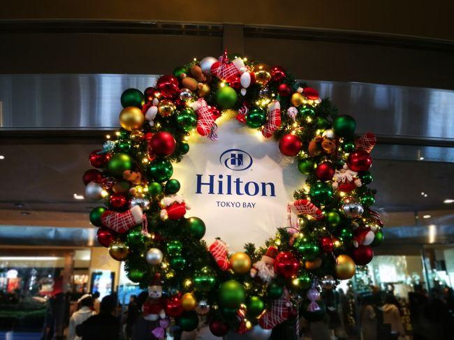クリスマス前の舞浜ホテルステイとパークにも行きました。